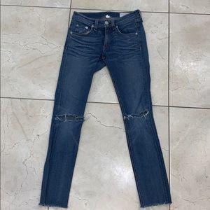 Rag & Bone Distressed Jeans 24
